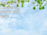 iTek REBEL 800M 800W ATX BlackRed power supply unit  power supply units 800 W 220  240