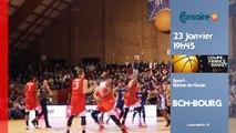 BA : Basket coupe de France en direct BCM vs JL BOURG !
