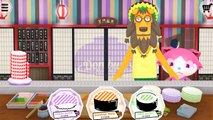 Children Play Sushi Kitchen Game - TO-FU Oh!SUSHI Kids Prepare Yummy Sushi