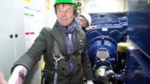 Déplacement de Nicolas Hulot dans la Sarthe sur le thème des énergies renouvelables