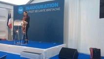 Jean-Yves Le Drian inaugure le Filet sécurité Bretagne
