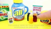 DIY Mini Slime Supplies -  Real Glue, Borax, Food Coloring,  etc. -Slime Supplies - Really Works