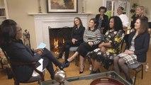 Hollywood Women Talk Time's Up Initiative, Woody Allen With Oprah Winfrey | THR News