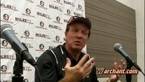 Warchant TV: Jimbo Fisher pleased with team, QBs at FSU Spring Football Game