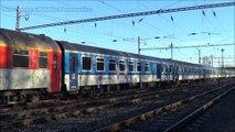 Vlaky Chrást u Plzně - leden 2016