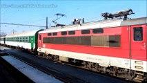 Vlaky Chrást u Plzně - únor - duben 2016
