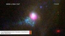 NASA Detects Supermassive Black Hole Burping
