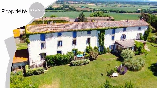 A vendre - Maison/villa - Villepinte (11150) - 23 pièces - 610m²