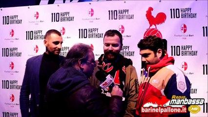 15/01/18 - I 110 anni della Fc Bari: interviste ai tifosi biancorossi