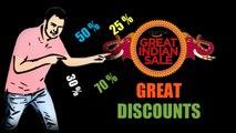 Amazon Great India Sale   Huge Discounts on Smartphones, Tv's, Laptops, Printers, Tablets...