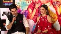 Badrinath Ki Dulhania Trailer Launch | UNCUT Full Event | Varun Dhawan | Alia Bhatt | Karan Johar