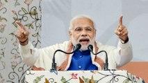 PM Narendra Modi addresses Public Meeting in Rajasthan