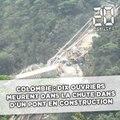 Colombie: Dix ouvriers meurent dans la chute d'un pont en construction