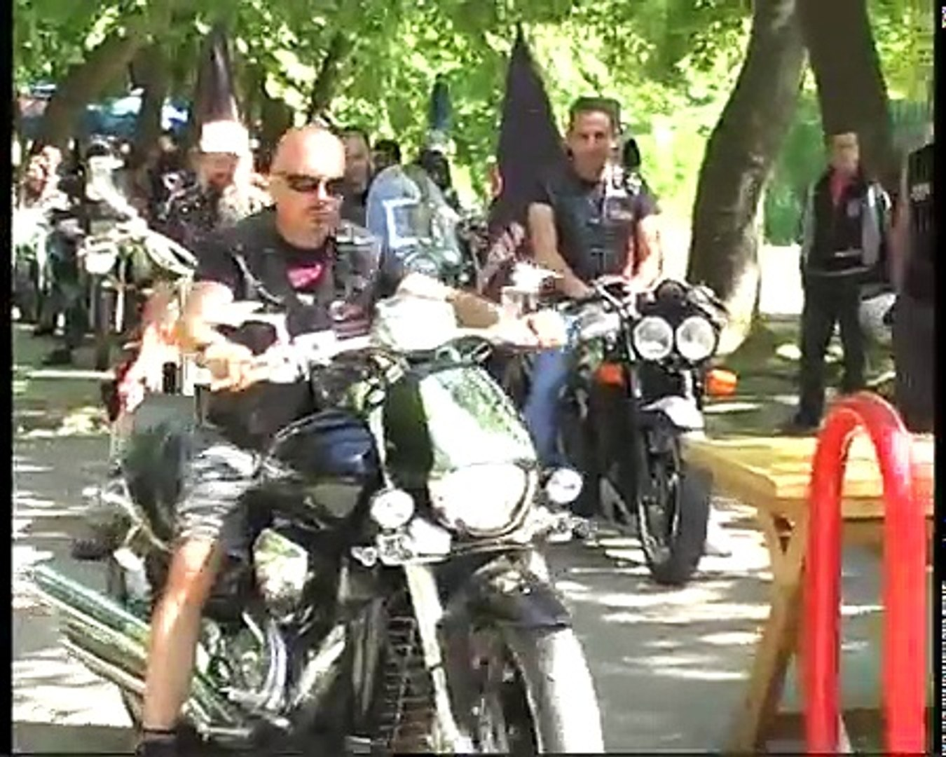 HQ Video 9th Anniversary NIGHT WOLVES MG -Moto Club Macedonia