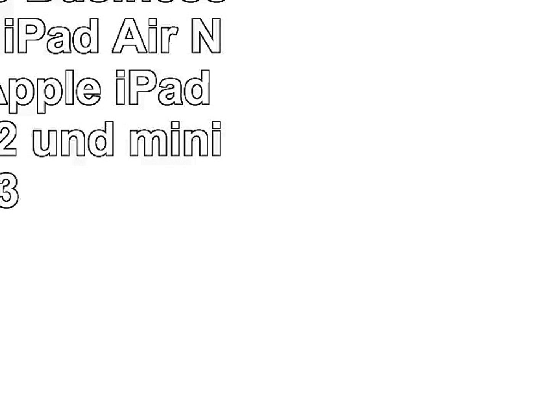 Adore June Business per Apple iPad Air Nero nero Apple iPad mini mini 2 und mini 3