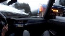 France: Il roule trop vite au volant de sa Mitsubishi et c'est l'accident