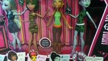 Распаковка и обзор сета We Are Monster High :)