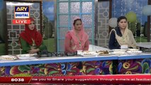 Cooking contest Winner In Today's Good Morning Pakistan