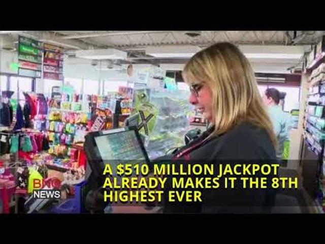 Powerball Jackpot Rises to $510 Million