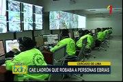 Cercado de Lima: capturan a reincidente ladrón de autopartes
