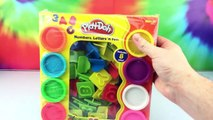 Play Doh Letters and Numbers Learn Alphabet Toys Playdoh Molds Unboxing Review