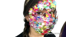 1000 Layers Challenge - 1000 Layers Of Stickers On Our Face