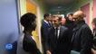 Asile et immigration : à Calais, Emmanuel Macron défend sa politique migratoire