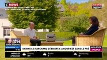 """Karine Le Marchand en larmes dans """"Morandini Live"""" (vidéo)"""
