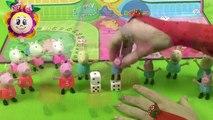 ¡SORPRESA! PEPPA PIG JUEGA AL PARCHIS I JUGUETES PEPPA PIG I La cerdita Pepa en español