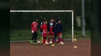 Journée U15 organisation coach Olivier