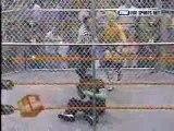 Jeff Jarrett vs Jeff Hardy Six sides of Steel Cage Match