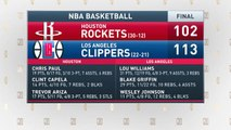 The Jim Rome Show: Rockets storm Clippers' locker room postgame