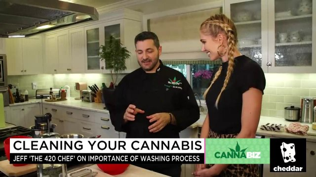 A Cannabis Chef Invented a Cleaning Process for Weed