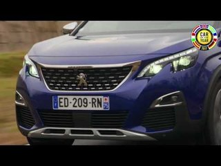 Peugeot 3008 announced Car of the Year 2017