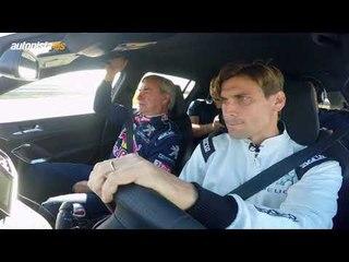 Carlos Sainz y David Ferrer, una clase con el Peugeot 308 GTI