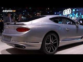 Estrellas del Salón de Frankfurt 2017: Bentley Continental GT
