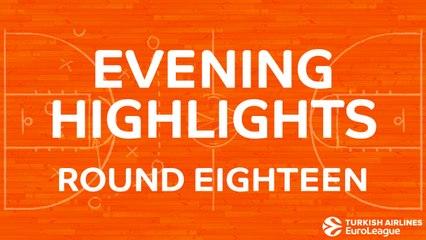 Tadim Evening Highlights: Regular Season, Round 18 - Tuesday