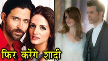 Hrithik Roshan And Sussane Khan To Get Married Again