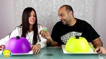 GOMINOLAS vs COMIDA REAL CHALLENGE EXTREMO 3| Real Food VS Gummy XTREME 3