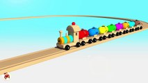 Learn Colors With Balloons Balls Trains Balls for Children - Street Vehicles Thomas Train