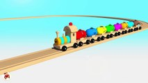 Learn Colors With Balloons Balls Trains Balls for Children - Street Vehicles Thomas Train For Kid