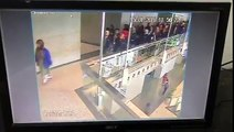 Video shows the moment mezzanine level of Indonesia Stock Exchange collapsed under a group of visiting students