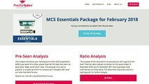 CIMA MCS Feb 2018 What is included in the MCS Essentials package