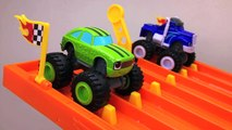 Monster Trucks for Kids #1 Blaze and the Monster Machines Racing for Children & Toddlers Hot Wheels
