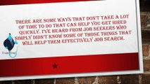 Some Tips For Finding A New Job