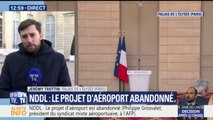 Notre-Dame-des-Landes: le gouvernement abandonne le projet d'aéroport