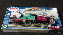 More Train Track and a New Hornby Percy for Thomas & Friends Sodor Train Layout