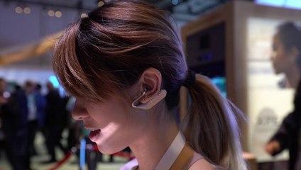 CES 2018 : Sony Xperia Ear Open style concept, des oreillettes qui ne vous coupent pas du monde