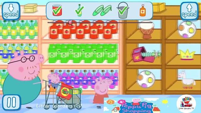 Peppa Pig Shopping   Peppa Pig Games   Peppa Pig Shopping Gameplay   Best Peppa app demo for kids