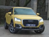 Essai Audi Q2 1.6 TDI 116 S-Tronic Design Luxe (2018)